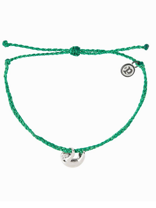 Puravida Green Sloth Bracelet