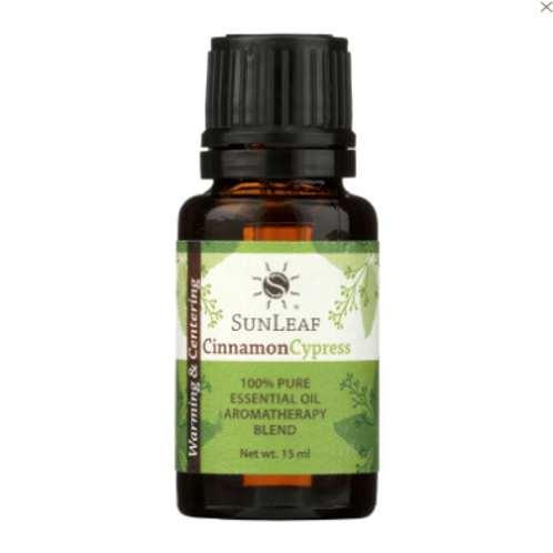 Sunleaf Naturals Essential Oil Blends- Cinnamon Cypress