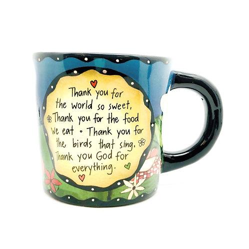 Table Prayer Mug