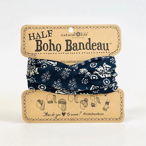 Natural Life Half Boho Bandeau- Cream Mandala
