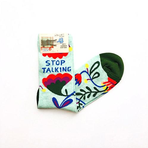 Stop Talking Women's Socks