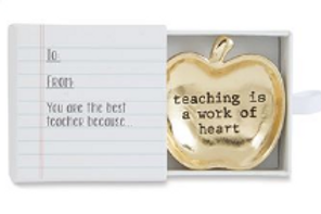 Teaching is a Work of Heart Mini Dish