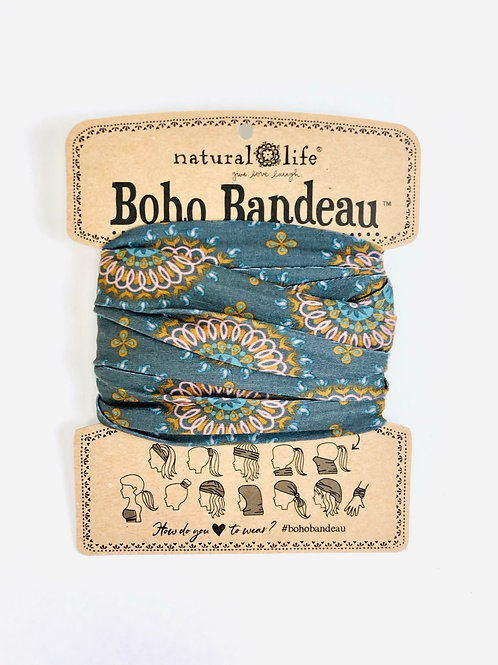 Natural Life Boho Bandeau- Grey