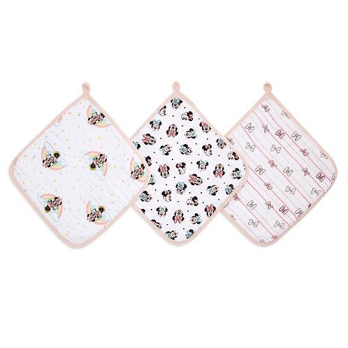 Набор из 3-х полотенец для лица и рук Minnie rainbows Essentials Aden Anais
