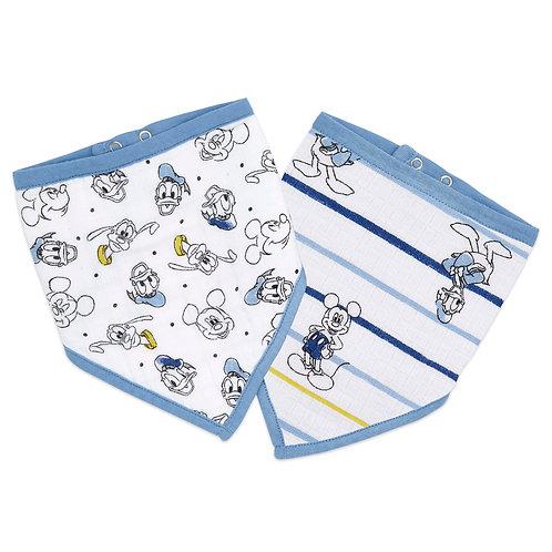 Набор из 2х нагрудных фартуков Mickey stargazer Essentials Aden Anais