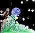 Fritzis Welt mit Blume