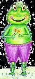 Fritzi der Frosch