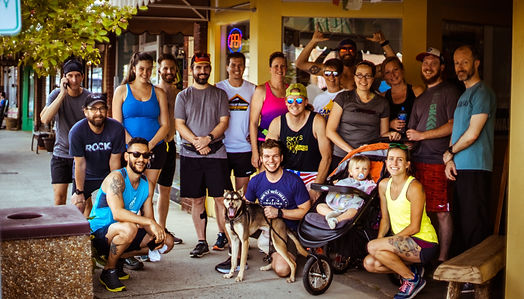 Every Wednesday we host a group run starting at the shop at 6pm. All paces and faces are welcome!