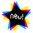 New! Star vector art