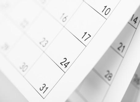 In arrivo il calendario 2019