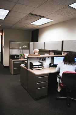Desks at ECS Financial Services