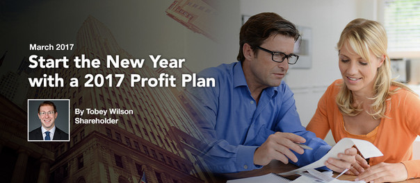 Start the New Year with a 2017 Profit Plan