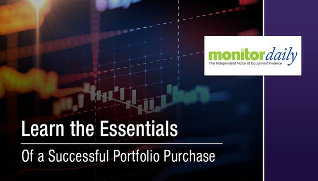 Essentials of a Successful Portfolio Purchase