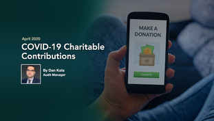 COVID-19 Charitable Contributions