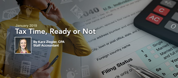 Tax Time, Ready or Not