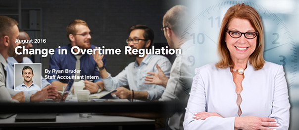 Change in Overtime Regulation