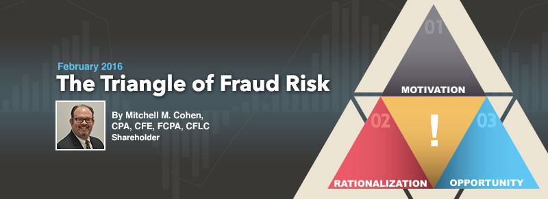 ECS Article - The Triangle of Fraud Risk