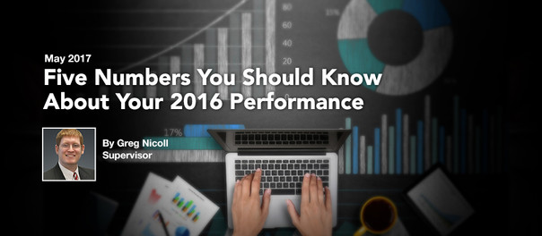 Five Numbers You Should Know About Your 2016 Performance