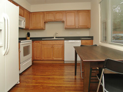 ECS Intern house kitchen