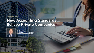 New Accounting Standards Relieve Private Companies