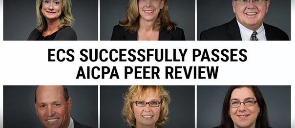 ECS Financial Services Successfully Passes Triennial AICPA Peer Review