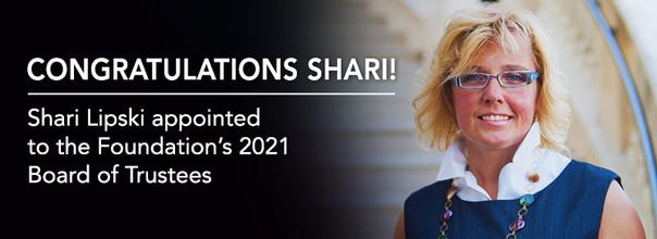 ELFF Welcomes Shari Lipski to 2021's Board of Trustees