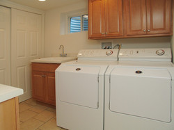 ECS Intern house laundry room