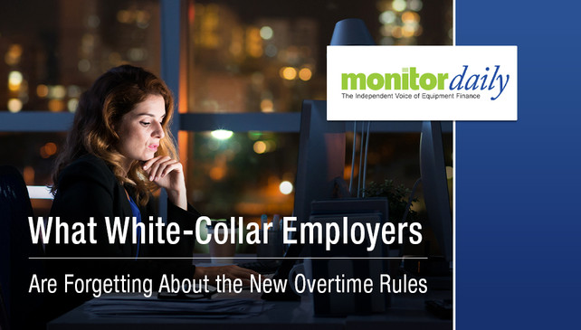 What White-Collar Employers Are Forgetting About the New Overtime Rules