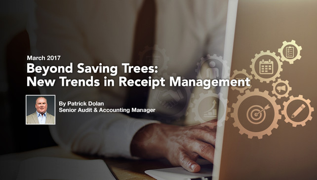 Beyond Saving Trees: New Trends in Receipt Management