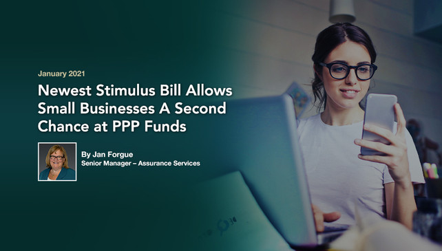 New Stimulus Bill Passed, Relief for Small Businesses