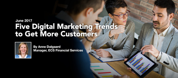 Five Digital Marketing Trends to Get More Customers