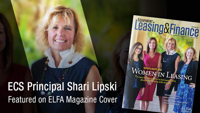 ECS Principal Shari Lipski Featured on ELFA Magazine Cover