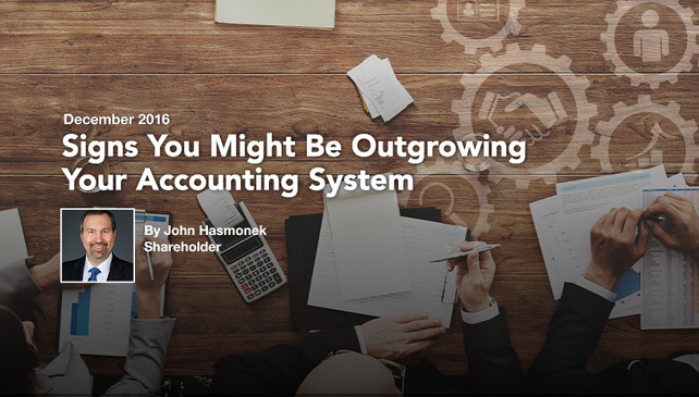 Signs You Might Be Outgrowing Your Accounting System