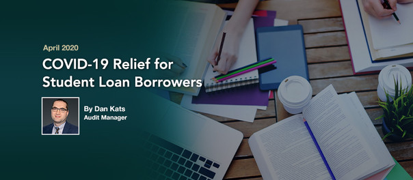 COVID-19 Relief for Student Loan Borrowers
