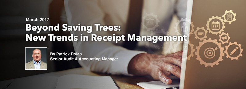 ECS Article - Beyond Saving Trees: New Trends in Receipt Management