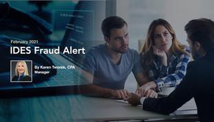 IDES Fraud Alert