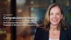ECS Financial Shareholder, Nancy Geary, Featured in Monitor's 2020 Women's List