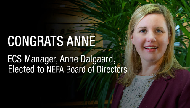 ECS Financial Services' Anne Dalgaard Appointed on National Equipment Finance Association Board of D