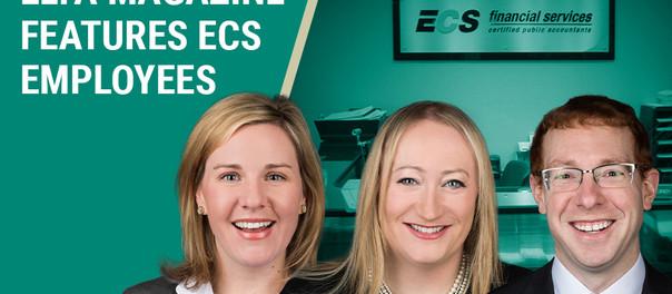 New ELFA Magazine Cover Features Three ECS Financial Employees