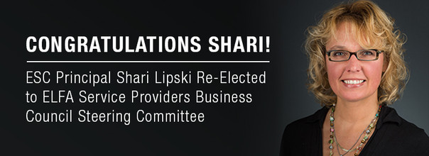 ECS Principal Shari Lipski Re-Elected for Two-Year Term on ELFA Service Providers Business Council S