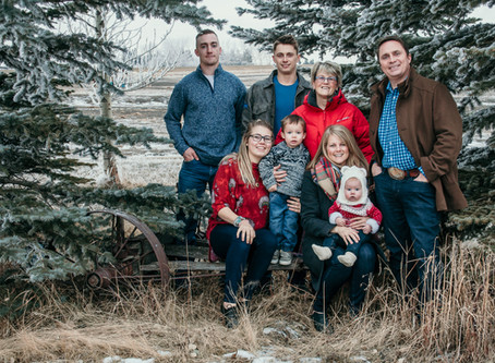 Christmas Traditions at  The Sutherland Ranch