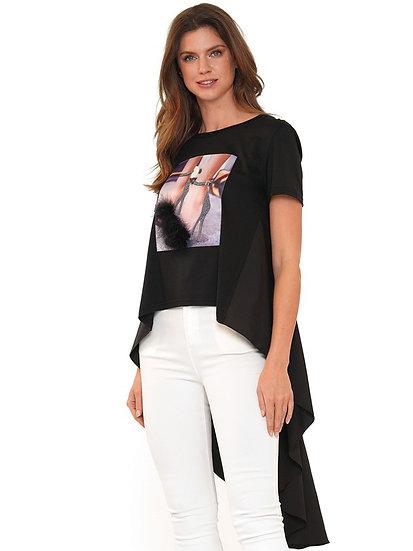 Hi Lo Shoe Shirt