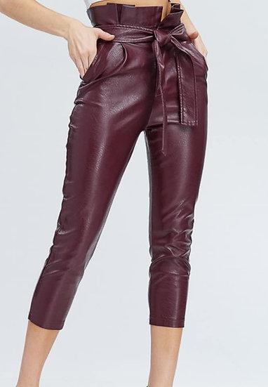 B079 Burgundy Hot Pants