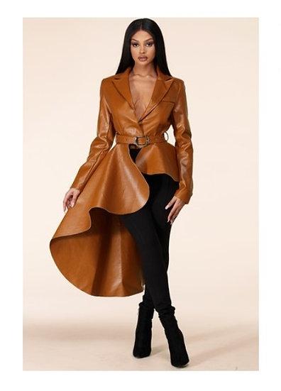 Fierce Faux Leather Jacket