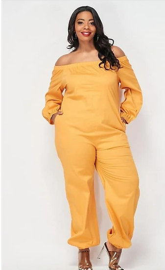 Plus Mustard Darcia Jumper