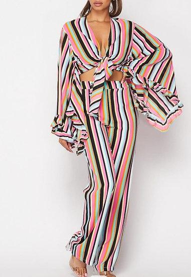 Stripe Pants Set (PS002)