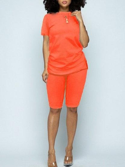 Orange Biker Set
