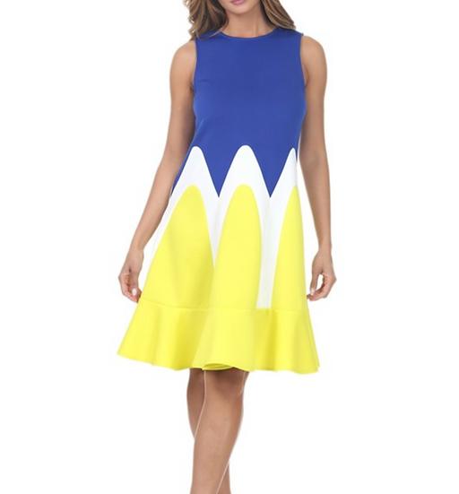 D071 Plus Tori Dress