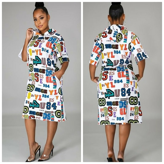Rambling Hoodie Dress