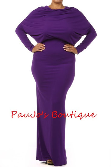D006P Purple Passion Maxi